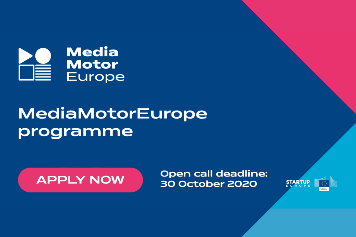 MediaMotorEurope – Open Call for media industry disruptors!