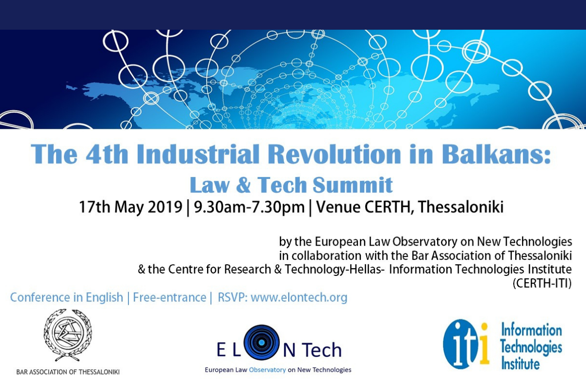 The 4th Industrial Revolution in Balkans: Law & Tech Summit
